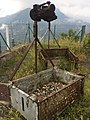 Baskets for the re-supply of Rimplas Fort via the aerial ropeway.jpg