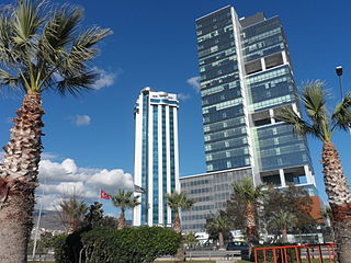 Bayraklı Place in İzmir, Turkey