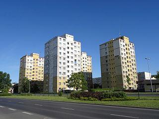 Szwederowo district, Bydgoszcz City district in Kuyavian-Pomeranian Voivodeship, Poland