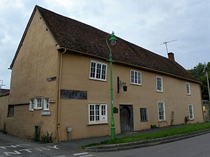 Grade II* listed buildings in North Hertfordshire - Image: Bear House, Ashwell