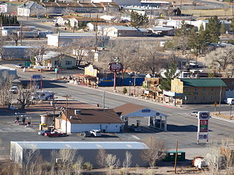 Beatty, Nevada - Image: Beatty NV downtown