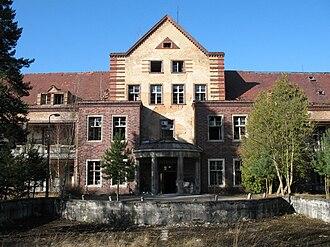 Beelitz - Image: Beelitz Heilstaetten Pavillon Chirurgie