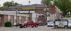 Beemer, Nebraska W side Main Street.JPG
