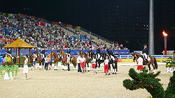 Beijing2008 eq medal Dressage Team 01.JPG