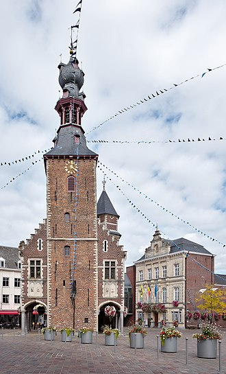Tielt - Image: Belfry of Tielt (DSCF0059)
