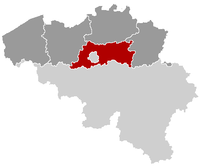 Location of Brabante Flamengo