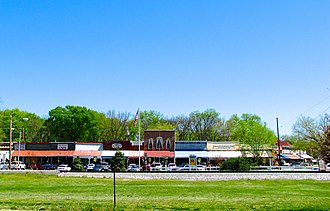 Bell Buckle, Tennessee - Downtown Bell Buckle