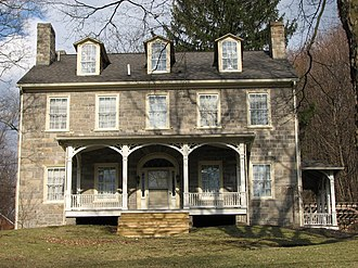 Spring Township, Centre County, Pennsylvania - The Bellefonte Forge House, a historic site in the township