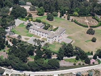 Huguette Clark - Bellosguardo estate in Santa Barbara, California