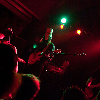 Buckethead - Buckethead and That 1 Guy, performing as The Frankenstein Brothers in 2006.