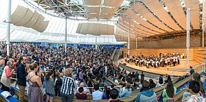 Aspen Music Festival and School - The Benedict Music Tent during the 2015 Aspen Music Festival and School season