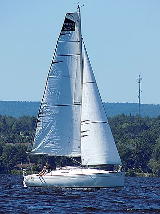 Beneteau First 25S - Image: Beneteau First 25S sailboat Gracie 3142