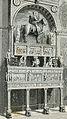 Bergamo mausoleo Colleoni, nella cappella omonima xilografia di Barberis.jpg