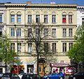 Berlin, Kreuzberg, Mehringdamm 52, Mietshaus.jpg