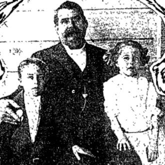 Bernard Healy - Healy and his twins