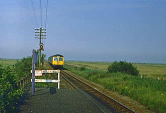 Berney Arms railway station - Berney Arms station in the 1970s