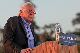 Political positions of Bernie Sanders - Bernie Sanders at a May 2016 rally in Vallejo, California.