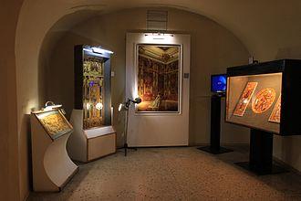 Kaliningrad Regional Amber Museum - Exposition on the subject of Amberroom