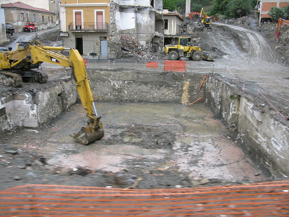 Between Scaletta Zanclea and Giampilieri Marina, Messina, Italy - 15 Oct. 2009