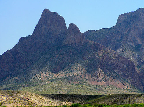 Big Bend National Park. - Texas