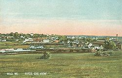 Bird's-eye view c. 1910