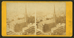 Bird's-eye view from St. Patrick's church towards Carrollton, by Theodore Lilienthal.png