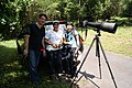 Birdwatchers at Bukit Brown Cemetery, Singapore - 20111210-01.JPG
