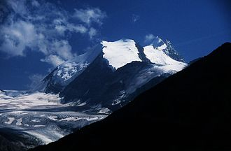 Bishorn - Bishorn and Weisshorn (right)