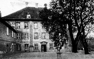 House of Bismarck - Schönhausen Palace I (demolished in 1958)