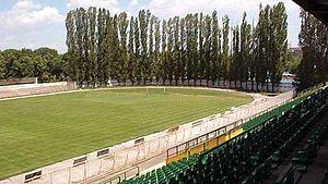 Stadion Tumbe Kafe - Image: Bitola Stadion Pod TK
