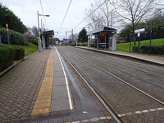 Black Lake tram stop - Black Lake tram stop