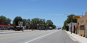 Blanca, Colorado - Main Street, looking west
