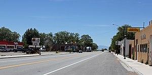 Blanca, Colorado - Main Street, looking west