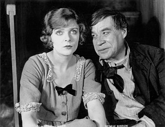 George F. Marion - Blanche Sweet and George F. Marion in Anna Christie (1923)