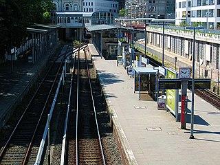 Blankenese station railway station in Blankenese, Germany