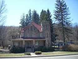 "Blossburg's ""castle"""