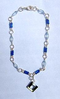 Bead stringing Method of stringing beads