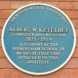 Blue plaque Albert Ketelbey.jpg