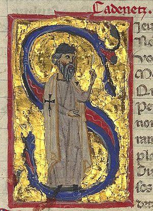 Cadenet (troubadour) - Cadenet portrayed as a Knight Hospitaller in a 13th-century French chansonnier