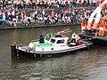 Boat 72 PinkHockey Amsterdam, Canal Parade Amsterdam 2017 foto 7, sleepboot Koerier ENI 0200623.JPG
