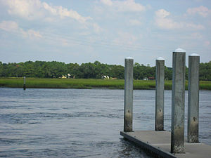 James Island, South Carolina - Image: Boat ramp in Riverland Terrace