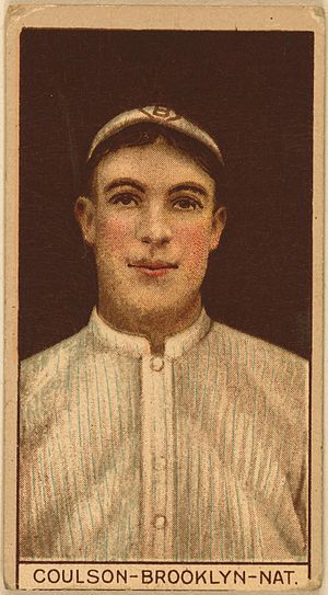 Bob Coulson - Bob Coulson baseball card from 1912