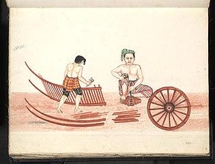 Burmese carpenter (IV)
