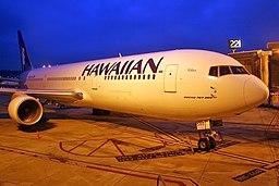 """Boeing 767-33AER Hawaiian Air N580HA """"Kolea"""""""