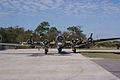 Boeing B-17G-85-DL Flying Fortress Nine-O-Nine Landing Taxi 30 CFatKAM 09Feb2011 (14960926336).jpg