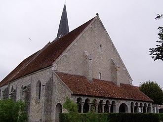 Boësses - The church in Boësses