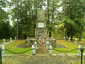 Battle of Ivankovac - Monument in Ivankovac.