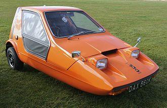 Bond Bug - Image: Bond Bug 3 Wheeler Flickr mick Lumix(1)