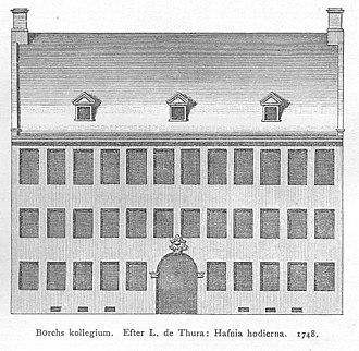 Borchs Kollegium - Image: Borchs Kollegium Thurah