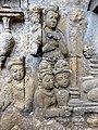 Borobudur - Divyavadana - 080 N, The Ministers deceive King Sikhandi (detail 2) (11705950105).jpg